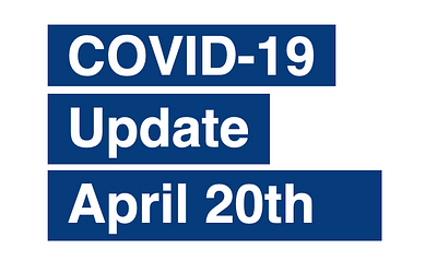 PAS Update on Coronavirus (COVID-19) April 20th